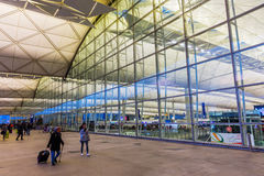 Front view of Hong Kong International Airport Royalty Free Stock Photography