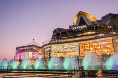 In front of view ICONSIAM royalty free stock photography