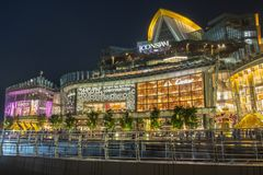 In front of view ICONSIAM royalty free stock photo