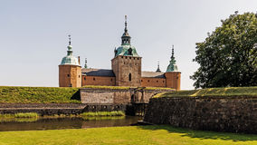 Front view of the Kalmar Castle Royalty Free Stock Images