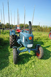 Front view of Lanz Bulldog tractor Royalty Free Stock Photo