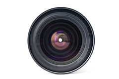 Front view of a lens Royalty Free Stock Photo