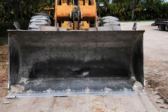 Front view of loader Stock Images