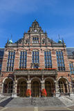 Front view of the main building of the Groningen University Royalty Free Stock Photos