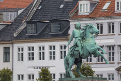 Front view of the main building and the Platz in front of Christ royalty free stock images