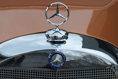 Front view of Mercedes 170 S Royalty Free Stock Photos