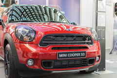 Front view of Mini cooper SD car Stock Photo