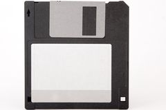 Front view of obsolete floppy disk Royalty Free Stock Photo