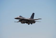 Front View Of F-16 Stock Image