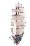 Front View Of Sail Ship Model Royalty Free Stock Image