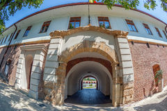 Front view with one enterance of the bastion Maria Theresia from Royalty Free Stock Photos