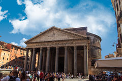 Front View of Pantheon Royalty Free Stock Photo