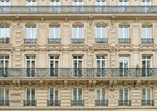 Windows of Paris. Royalty Free Stock Photography
