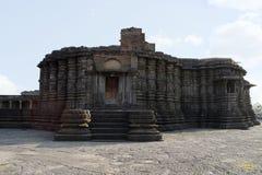 Front View, partie ant?rieure de temple de Daitya Soudan, Lonar, secteur de Buldhana, maharashtra, Inde images libres de droits