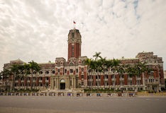 Front view of Presidential Office building Stock Images