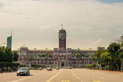 Front view of Presidential Office building Stock Photos