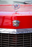 A front view of red cadillac Stock Photo