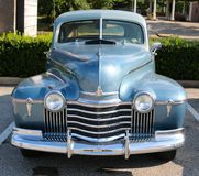 Front view of a 1940's model Oldsmobile Royalty Free Stock Image