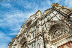 Front view of Santa Maria Novella Stock Photo