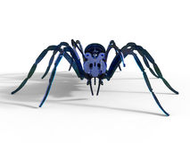 Front view - spider cutout Stock Image