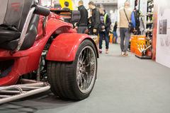 Front view of Sport buggy car on Belgrade car show Stock Photo
