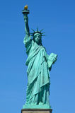 Front view of the Statue of Liberty in NY Stock Image