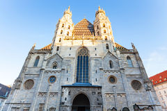 Front view of Stephansdom, Vienna Stock Photo