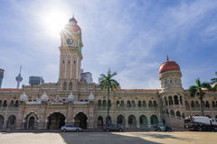 Front view of The Sultan Abdul Samad building Stock Photo