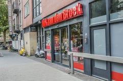 Front View Of The Supermarket-Zeemansdolk royalty-vrije stock foto