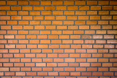 Front view texture brick wall Stock Images