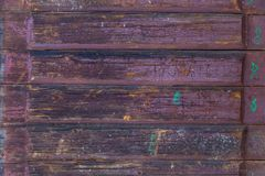 The texture of the old wood. Front view texture of the old wood close up Royalty Free Stock Image