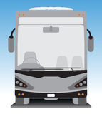 Front view of Tourist bus Stock Photo