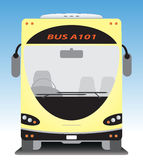 Front view of Tourist bus Royalty Free Stock Photo