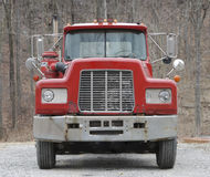 Front View of Truck Stock Image