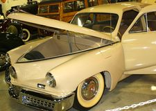 Front view of 1948 Tucker Automobile Stock Photo