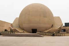Front View van Centro Cultural Tijuana CECUT Stock Afbeelding