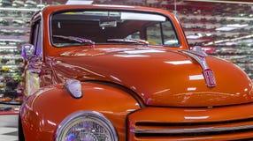 Front View van Fiat-Vrachtwagen Stock Afbeelding