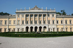 Front view of Villa Olma Stock Images