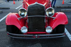 Front view of vintage car Stock Photo