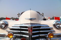Front view of Vintage car, Chevrolet 1948 Stock Photography