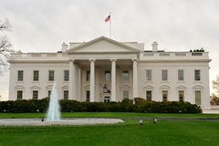 Front view of White House, Washington, DC. Front view of the White House, Washington, DC Royalty Free Stock Photo