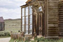 Front von J S Cain Residence, Bodie, Kalifornien Lizenzfreies Stockfoto