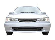 Front von metallischen Limousinen Stockbild