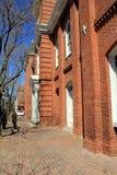 Front von Rathaus in altem Alexandria stellt herrliche Architektur in dieser historischen Anziehungskraft, Virginia, 2015 zur Sch stockbilder