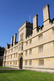 Front of Wadham College, Oxford University, Oxford Stock Image