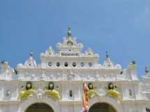 Wewurukannala Vihara temple Stock Image