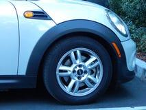 Front Wheel Mini-Cooper Royalty Free Stock Photo