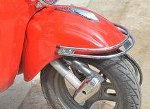 Front wheel motorcycle Royalty Free Stock Photos