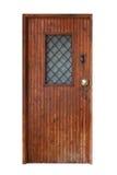 Front wooden door Stock Photography