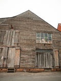 Front of wooden old house rural shipbuilding yard special rustic. England; UK Stock Photography